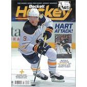 2020 Beckett Hockey Monthly Price Guide (#331 March) (Jack Eichel)
