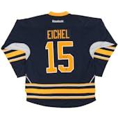 Jack Eichel #15 Autographed Buffalo Sabres Large Blue Hockey Jersey