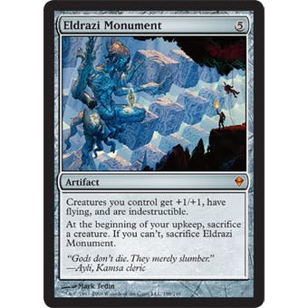 Magic the Gathering Zendikar Single Eldrazi Monument - NEAR MINT (NM)