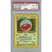 Pokemon Jungle No Set Symbol Error Electrode 2/64 PSA 8