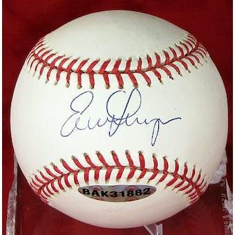 Evan Longoria Autographed Tampa Bay Rays MLB Baseball (Mint) (UDA COA)