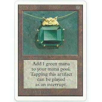 Magic the Gathering Unlimited Single Mox Emerald - NEAR MINT (NM)