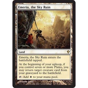 Magic the Gathering Zendikar Single Emeria, the Sky Ruin - NEAR MINT (NM)