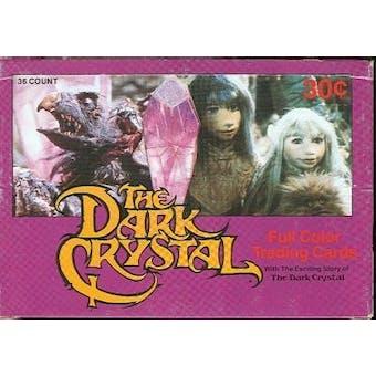 Dark Crystal Wax Box (1982 Donruss)