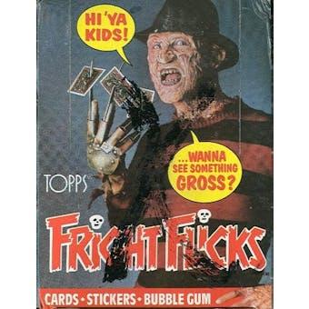 Fright Flicks Wax Box (1988 Topps)