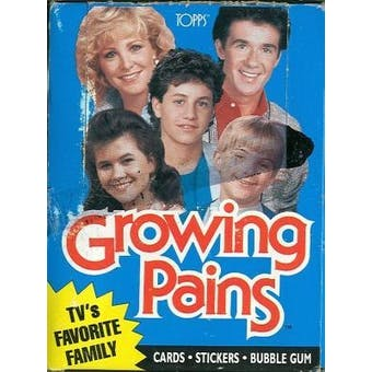 Growing Pains Trading Cards Wax Box (1988 Topps)