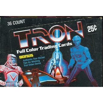 Tron Wax Box (1982 Donruss)