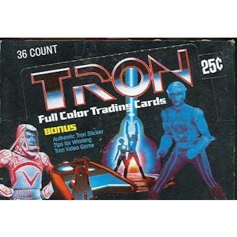 Tron Wax Box (1982 Donruss)
