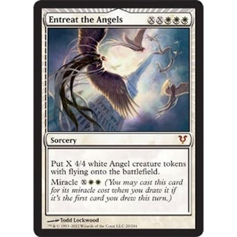 Magic the Gathering Avacyn Restored Single Entreat the Angels Foil