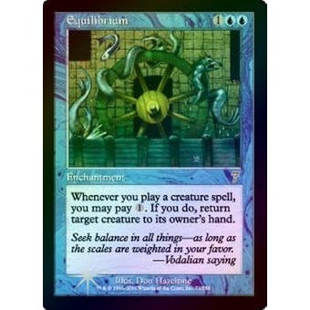 Magic the Gathering 7th Edition Single Equilibrium Foil