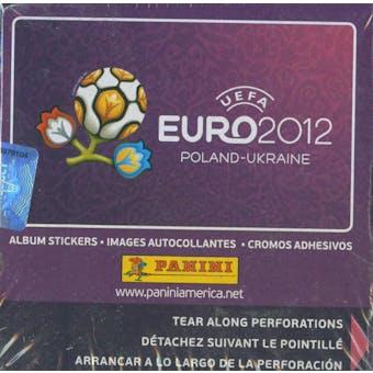 2012 Panini UEFA Euro Soccer Sticker Box