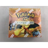 Pokemon EX Expedition Booster Box - Small cut in the shrink
