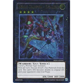 Yu-Gi-Oh Return of the Duelist Single Heroic Champion - Excalibur Ultimate Rare