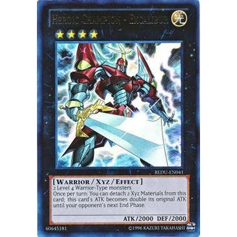 Yu-Gi-Oh Return of the Duelist Single Heroic Champion - Excalibur Ultra Rare
