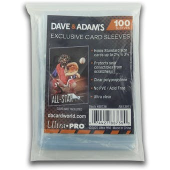 Ultra Pro Dave & Adam's Exclusive Soft Card Sleeves (100 count pack)