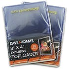 Image for  2x Ultra Pro 3x4 Dave & Adam's Exclusive Regular Toploaders (25 Count Pack)