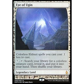 Magic the Gathering Zendikar Expedition Single Eye of Ugin FOIL - NEAR MINT (NM)