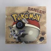 Pokemon Fossil 1st Edition Booster Box WOTC Near Mint