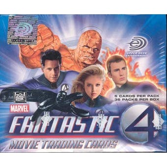Fantastic Four The Movie Hobby Box (2005 Upper Deck)