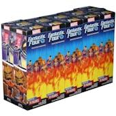 Marvel Heroclix: Fantastic Four Booster 2-Brick Case (Presell)