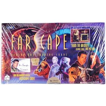 Farscape Season 1 Premiere Edition Trading Cards Box (Rittenhouse 2000)