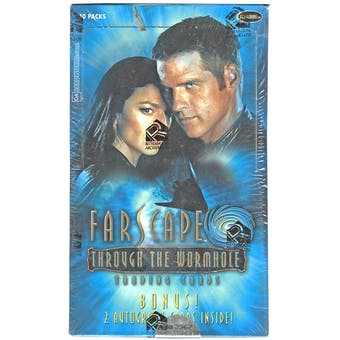 Farscape Through the Wormhole Archives Trading Cards Box (Rittenhouse 2004)