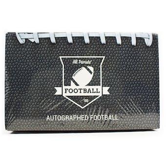 2020 Hit Parade Autographed Football Hobby Box - Series 9 - Brady, K. Murray & Roethlisberger!!!