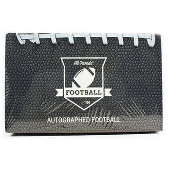 2021 Hit Parade Autographed Football Hobby Box - Series 3 - Aaron Rodgers, Brett Favre & Josh Allen!!!