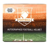 2018 Hit Parade Autographed Full Size College Football Helmet Hobby Box - Series 7 - B. Favre & Baker Mayfield