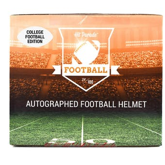 2020 Hit Parade Autographed FS College Football Helmet Hobby Box -Series 3 - Trevor Lawrence & Tua!!