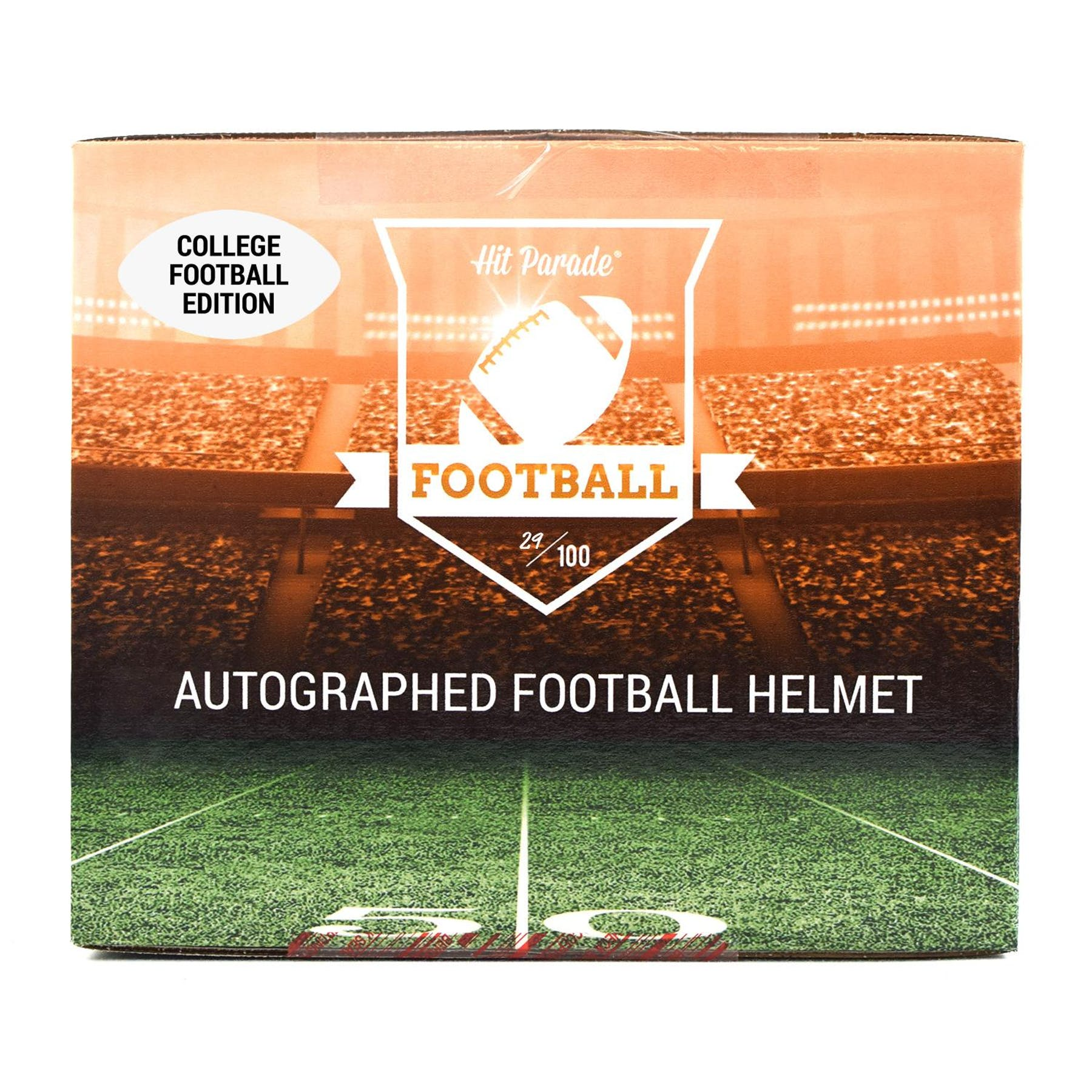 d1aed3ce1a6 2018 Hit Parade Autographed Full Size College Football Helmet Hobby Box -  Series 7 - B. Favre & Baker Mayfield | DA Card World