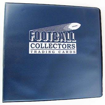 """Ultra Pro 3"""" Blue Football Card Collectors Album"""