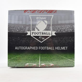 2018 Hit Parade Autographed Full Size Football Helmet Hobby Box - Series 44 - Peyton Manning & Russell Wilson!