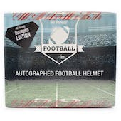 2019 Hit Parade Autographed FS Football Helmet Diamond Edition Hobby Box - Series 1 - Tom Brady & P. Manning!!
