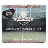 2021 Hit Parade Autographed FS Football Helmet DIAMOND Edition Hobby Box - Series 2 - Unitas & Manning!!!