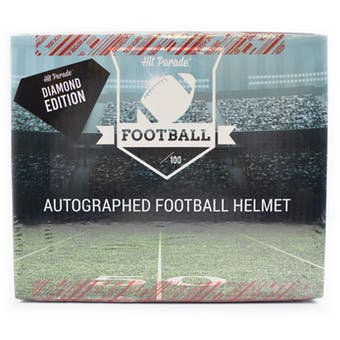 2019 Hit Parade Auto Football Helmet Diamond Ed 1-Box Ser 1 - DACW Live 8 Spot Random Division Break #2