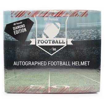 2020 Hit Parade Autographed FS Football Helmet DIAMOND Edition Hobby Box - Series 7 - Mahomes & Manning!!