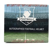 2020 Hit Parade Autographed FS Football Helmet 1ST ROUND EDITION Hobby Box - Series 6 - Rodgers & Allen!!