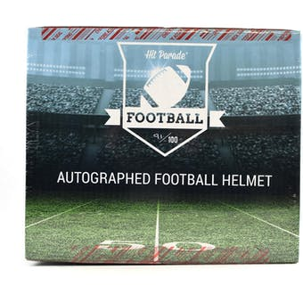2018 Hit Parade Auto Full Size Football Helmet 1-Box Series 42- New Year 8 Spot Random Division Break #2