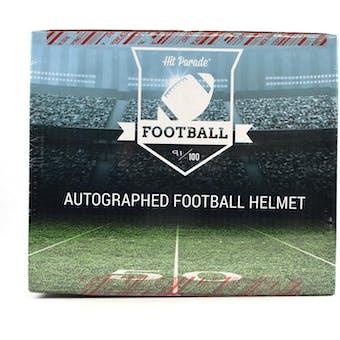 2019 Hit Parade Autographed Full Size Football Helmet Hobby Box - Series 4 - Barry Sanders & Jim Brown!!!