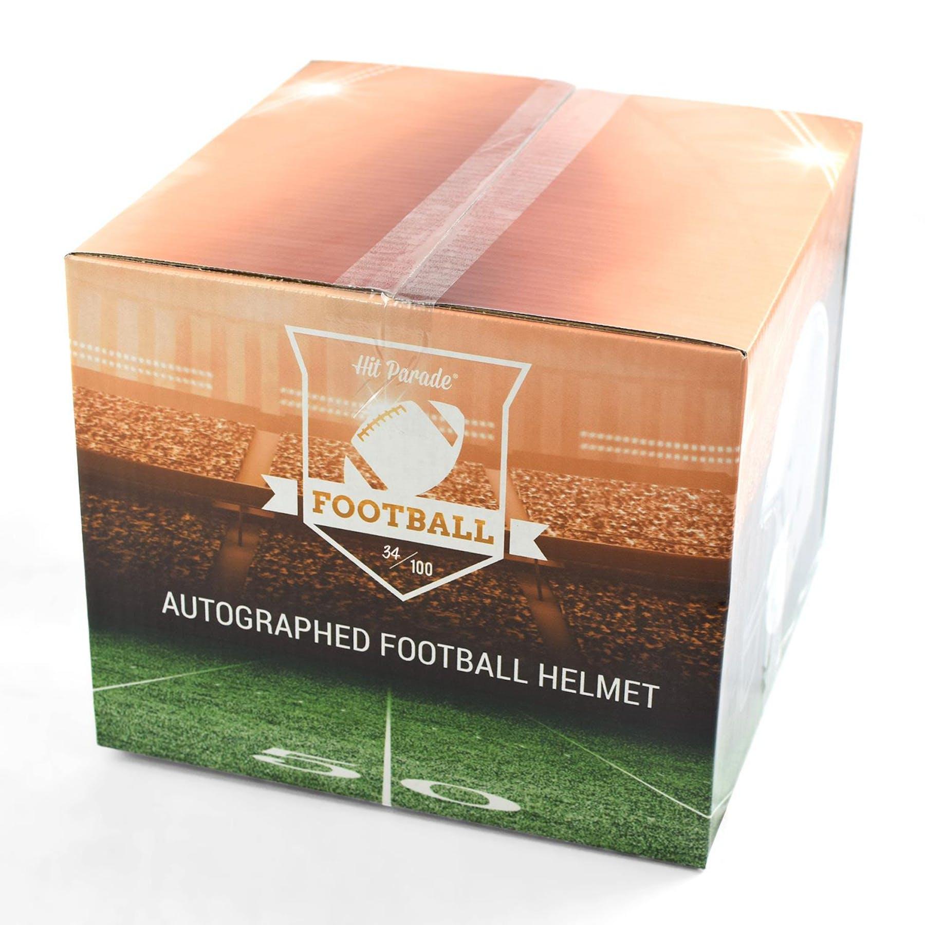 128dcd76987e3 2019 Hit Parade Auto Full Size Football Helmet 1-Box Series 6- DACW Live 8  Spot Random Division Break #3