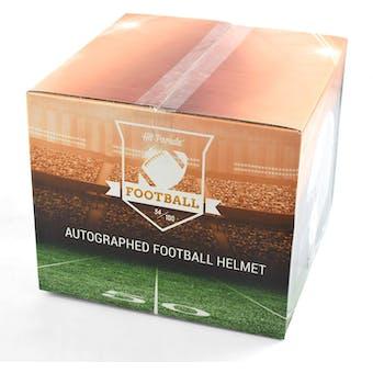 2019 Hit Parade Autographed Full Size Football Helmet Hobby Box -Series 5 - Aaron Rodgers CHROME HELMET!!!
