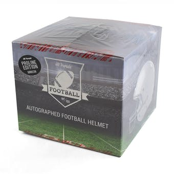 2018 Hit Parade Auto Full Size PROLINE Football Helmet 1-Box Series 6- DACW Live 8 Spot Random Division Break
