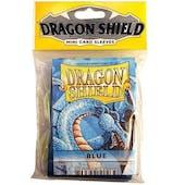 Dragon Shield Yu-Gi-Oh! Size Card Sleeves - Blue (50 Ct. Pack)
