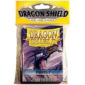 Dragon Shield Yu-Gi-Oh! Size Card Sleeves - Purple (50 Ct. Pack)