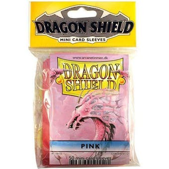 Dragon Shield Yu-Gi-Oh! Size Card Sleeves - Pink (50 Ct. Pack)