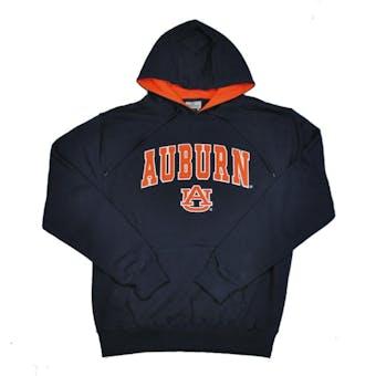 Auburn Tigers Colosseum Navy Zone Pullover Fleece Hoodie (Adult L)