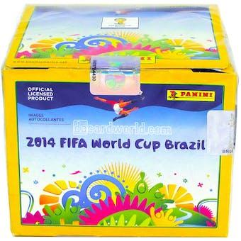 2014 Panini FIFA World Cup Soccer Sticker Box (50 Packs)