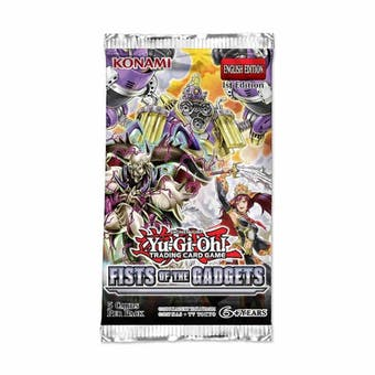 Yu-Gi-Oh Fists of Gadgets Booster Pack