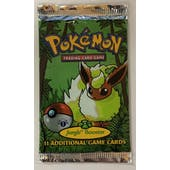 Pokemon Jungle 1st Edition Booster Pack - Flareon Art UNSEARCHED